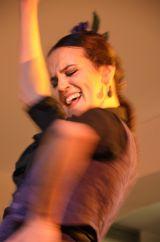 Purple Flamenco Dance