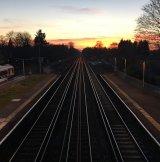 Train lines