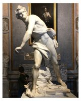 Rome 2019 - David throwing a stone