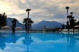 Sunset in Grand Hotel Villa Serbelloni Bellagio