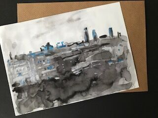 View of the City from Muswell Hill (Grey)