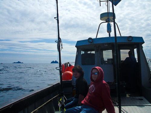On a fishing trip