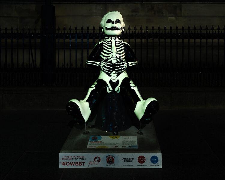 Oor Skeleton - Oor Wullie Glow in the dark