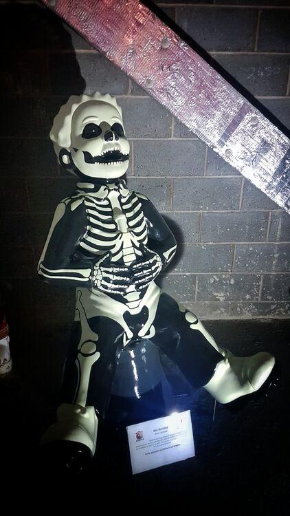 Oor Skeleton - Oor Wullie ECHC Event