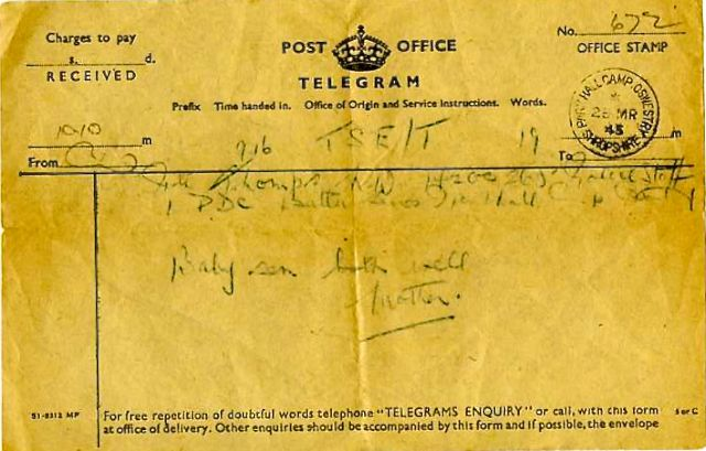 Timeline Mar 1945