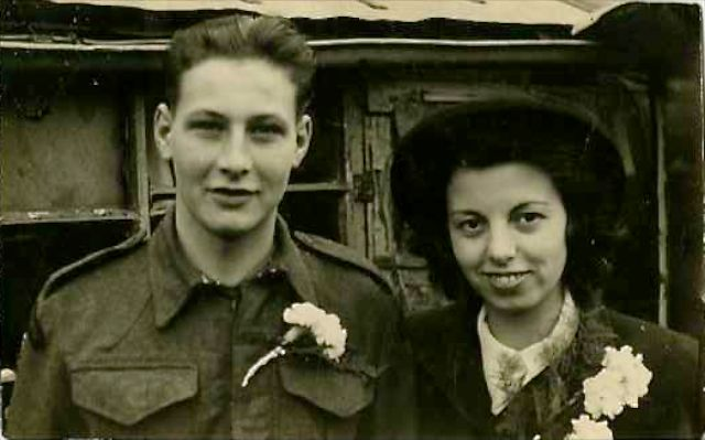 Wedding Day 21st Oct 1942