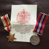Africa Star & 1939-45 War Medals