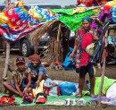 Rabaul Volcano Market