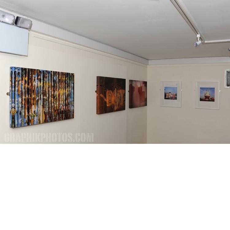 'Hidden' - Three canvases, 2014