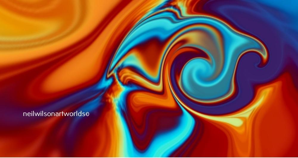 Untitled, (Melange 5, 2018). Digitally manipulated found image.