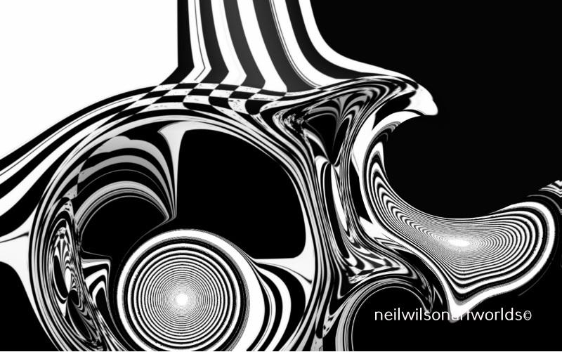 Untitled, (Negative Zone 3, 2018). Digitally manipulated found image.