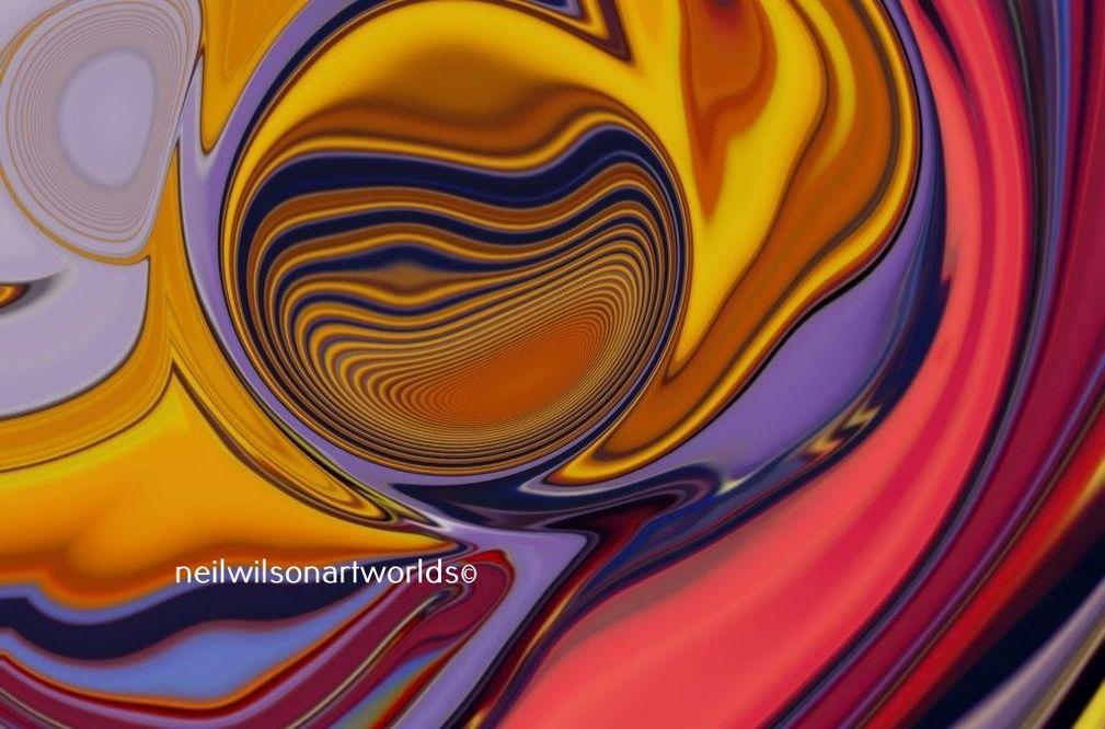 Altered Perception 02, 2019. (Digital collage).