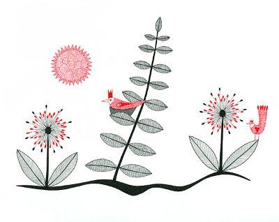 Birds In A Strange Garden