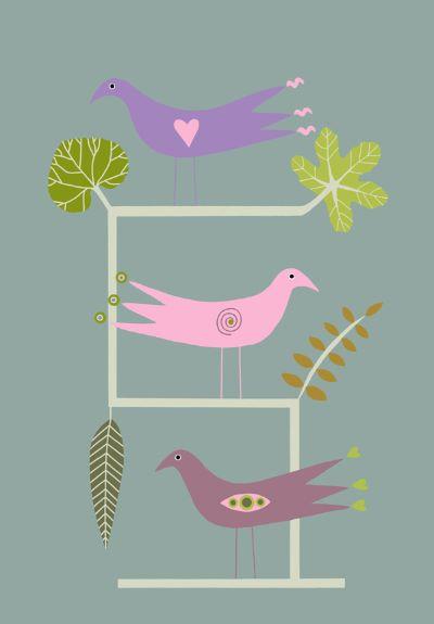 Ladder Birds
