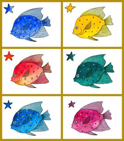 Watercolour Fish