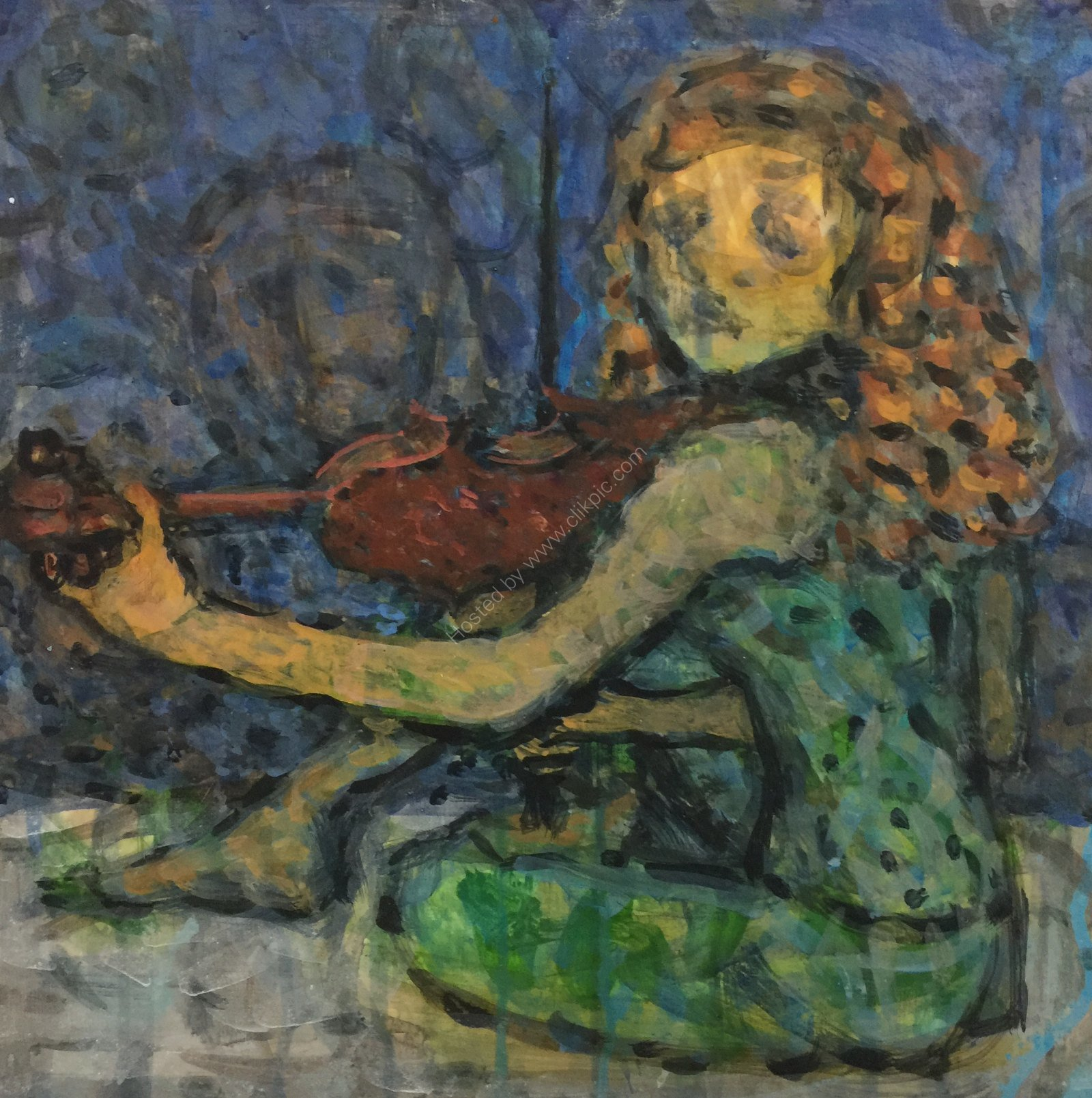 The Fiddling Girl