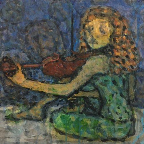 The Fiddling Girl