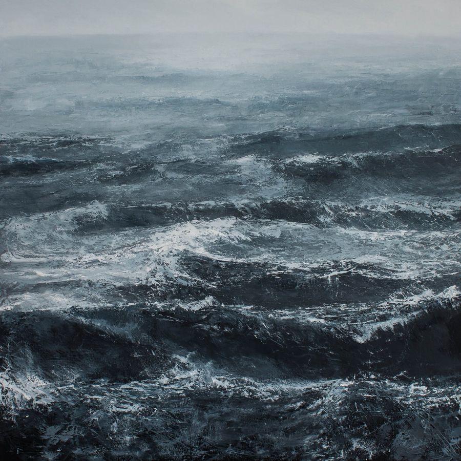 The tempestuous sea