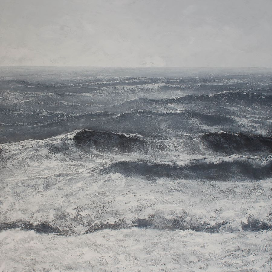 Cool winds, cold sea