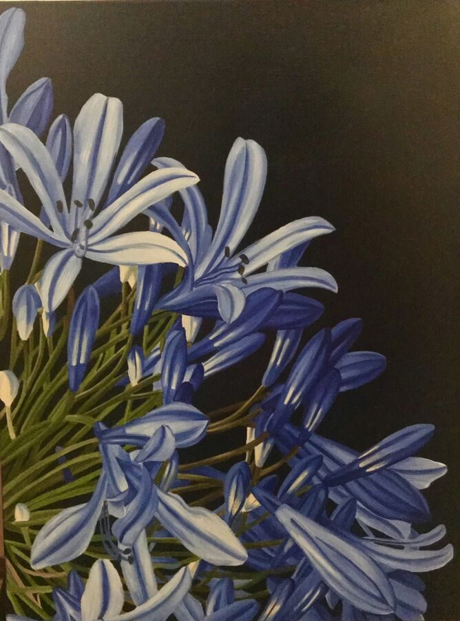 SOLD - Little Beautiful Blue