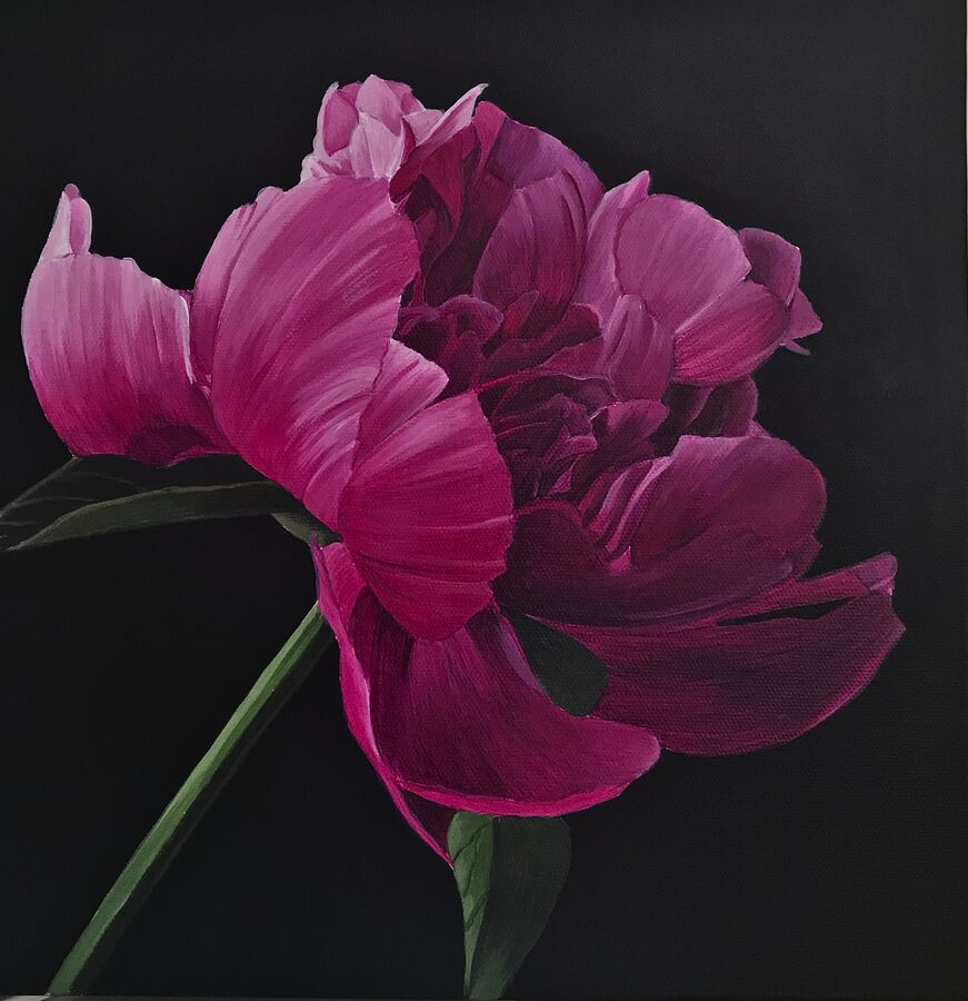 SOLD - Little Pink Peony
