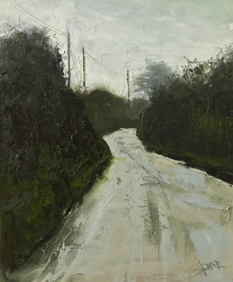 SOLD - Cornish lane #5