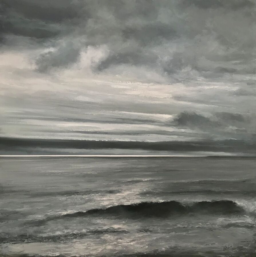SOLD - Shimmering Distant Horizon