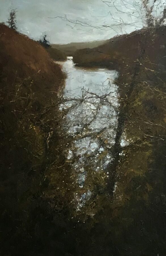 On a Winters Day, Ponsontuel Creek