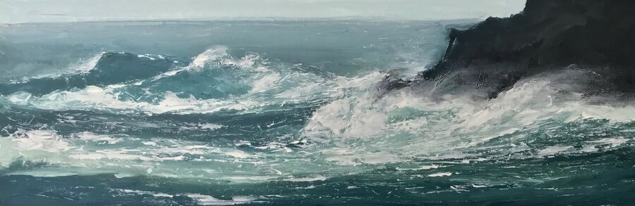 SOLD - Turbulent Seas