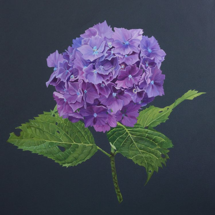 Purple and slate