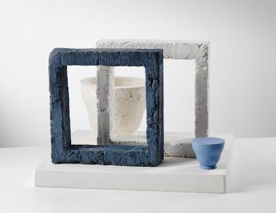 Blue Penninsula (After Joseph Cornell)