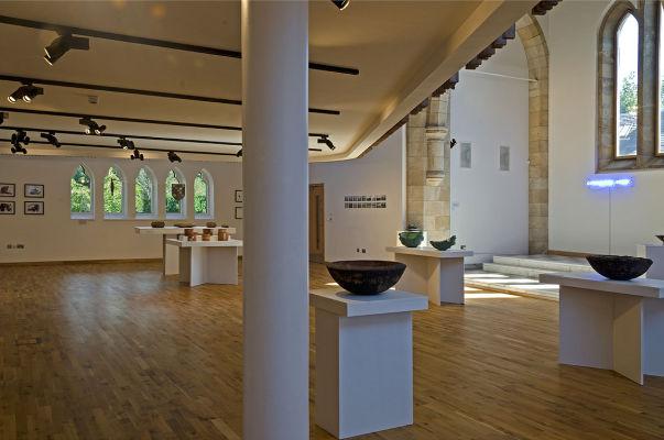 Installation shot of  Cille Bhrighde installation