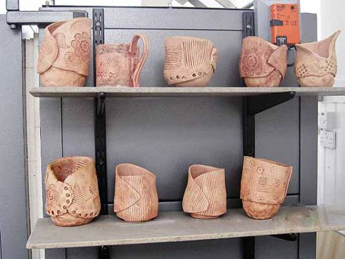 pinch and slab pots