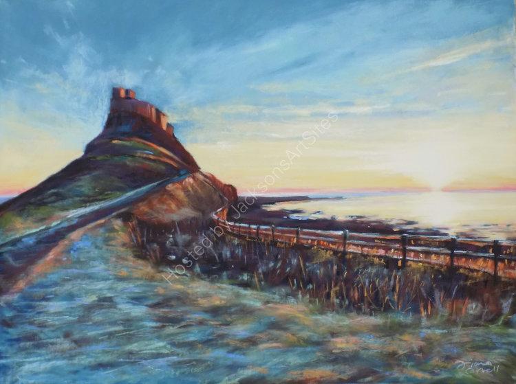 Lindisfarne Dawn -SOLD