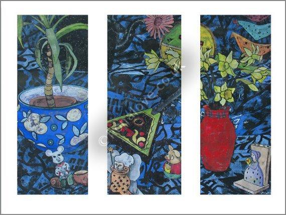 Bric-a-Brac Triptych