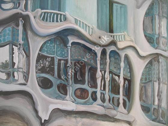Casa Batllo (Detail)