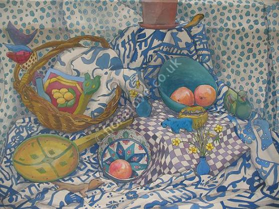 Patterned Still Life