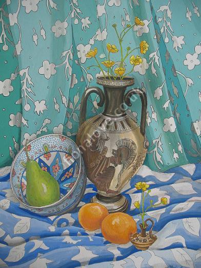 Buttercups in Greek Vases