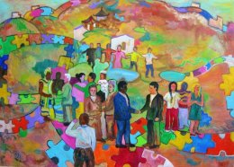 'Social Integration, Peace and Opening Up.'