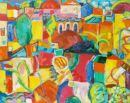 'Warm City.' Oil on canvas, 2007 99cm x 79cm