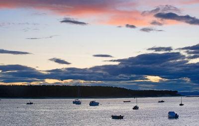 Sunset At Findhorn Scotland