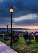 Sunset at St. Mary's Churchyard, Whitby
