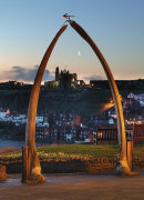 Whitby Abbey Framed by Whalebones