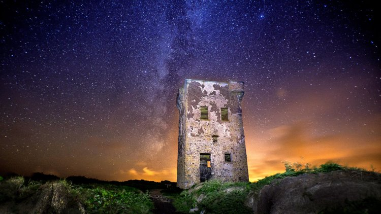 Milkyway Over Knockadoon