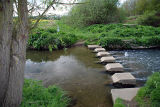 Ford & Stepping Stones at Barkstone