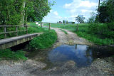 Bridleway Ford at Brackenborough Hall