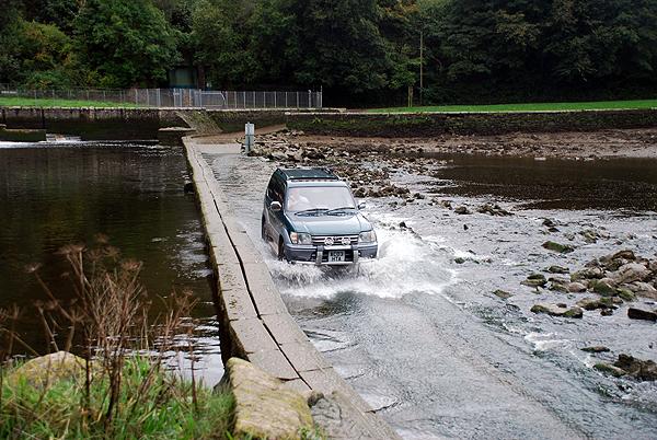 Lopwell Dam Tidal Road