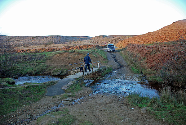 Ford at Cod Beck Reservoir