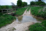 Bridleway Ford at Mareham on the Hill