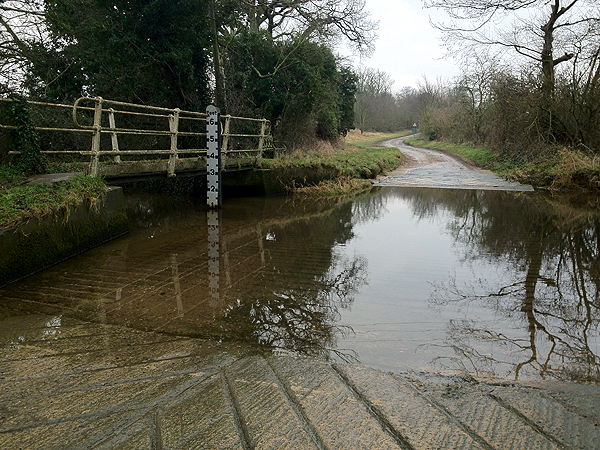 Ford at Houghton St Giles 1